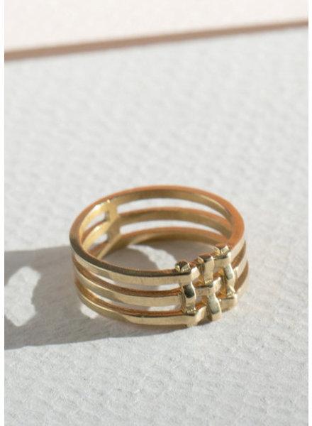 Crosshatch Ring