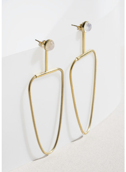 Moonstone Arlo Earrings