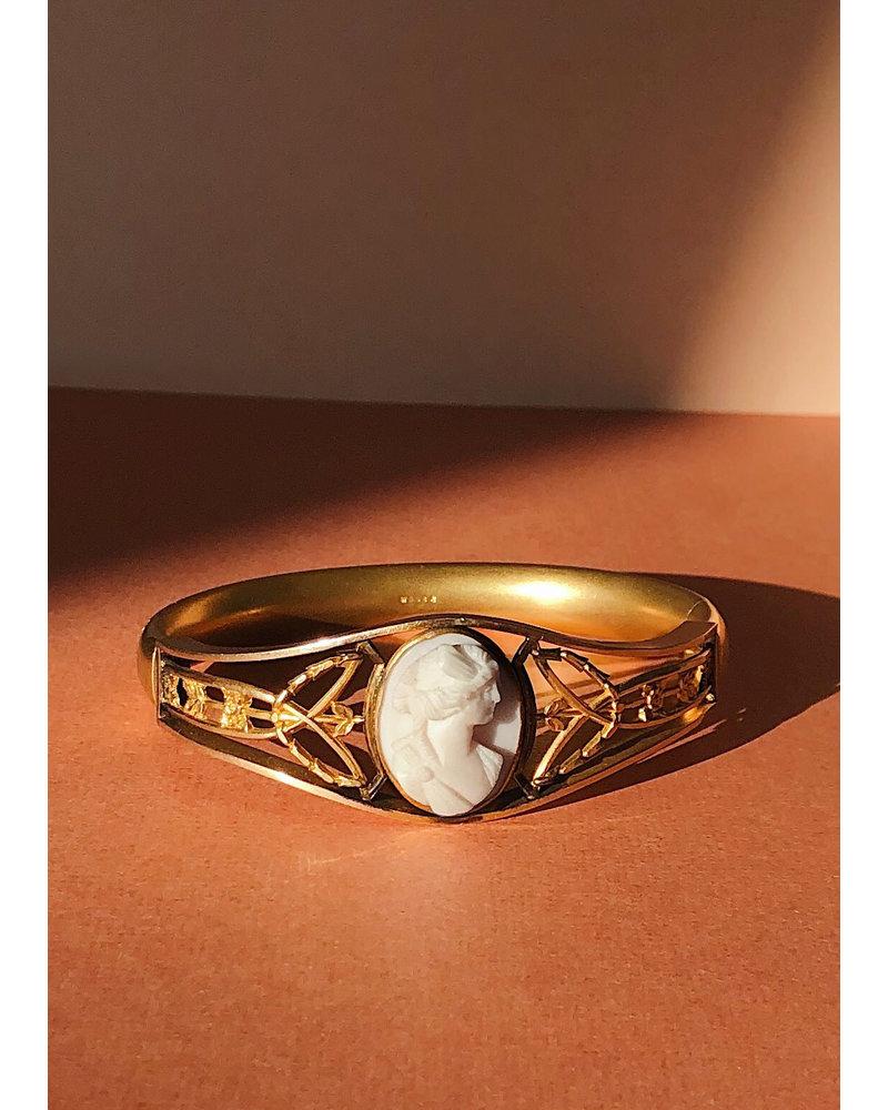 Vintage Florenza Cameo Bracelet