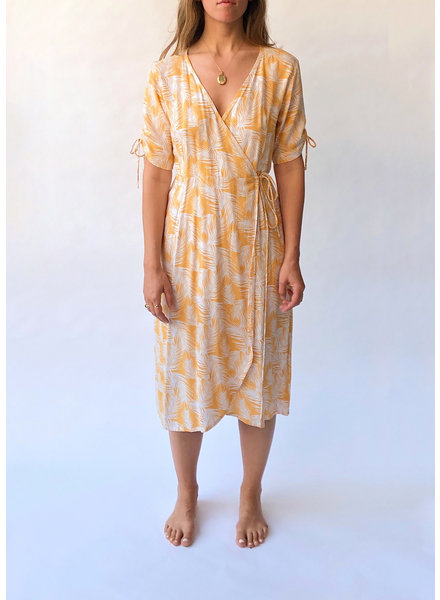 Josey Midi Wrap Dress