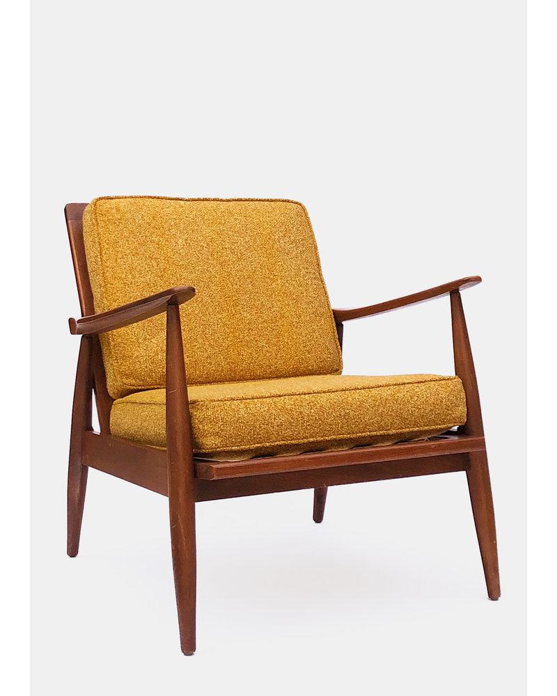 Mid Century Tweed Armchair