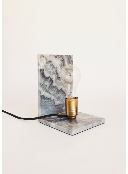 Renwil Grey Marble Table Lamp