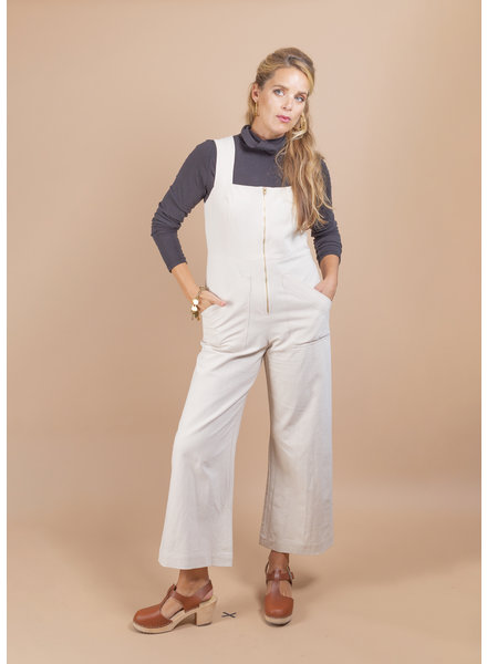Linen Canvas Kai Jumpsuit