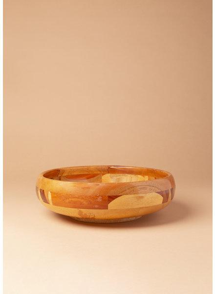 Vintage Large Wooden Bowl