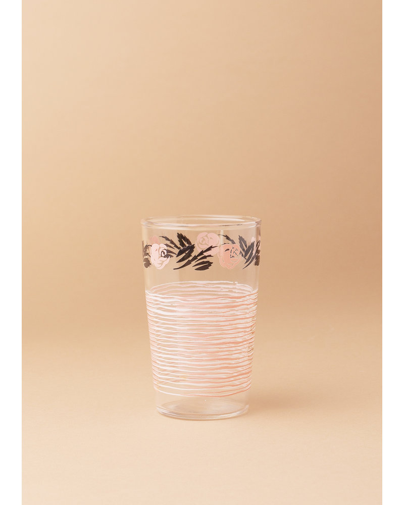 Rose Juice Glasses ( set of 5)