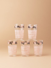 Rose Juice Glasses (set of 5)