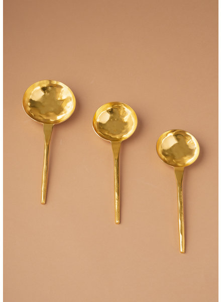 Gold Stainless Steel Spoon Set