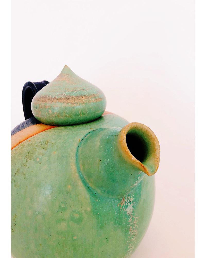 Vintage Danish Teapot & Candle Warmer