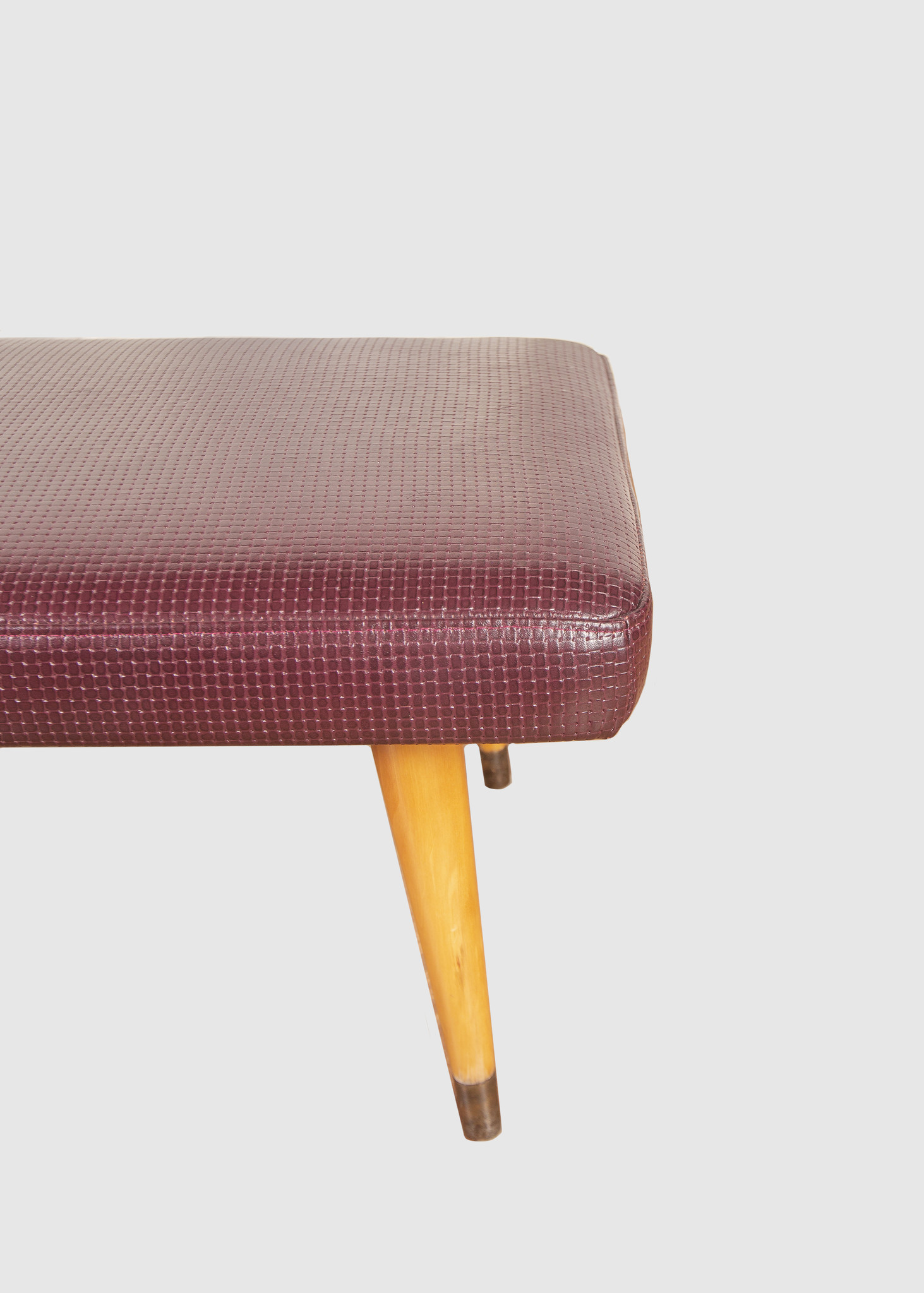 Fantastic Eskell Woven Leather Ottoman Lamtechconsult Wood Chair Design Ideas Lamtechconsultcom