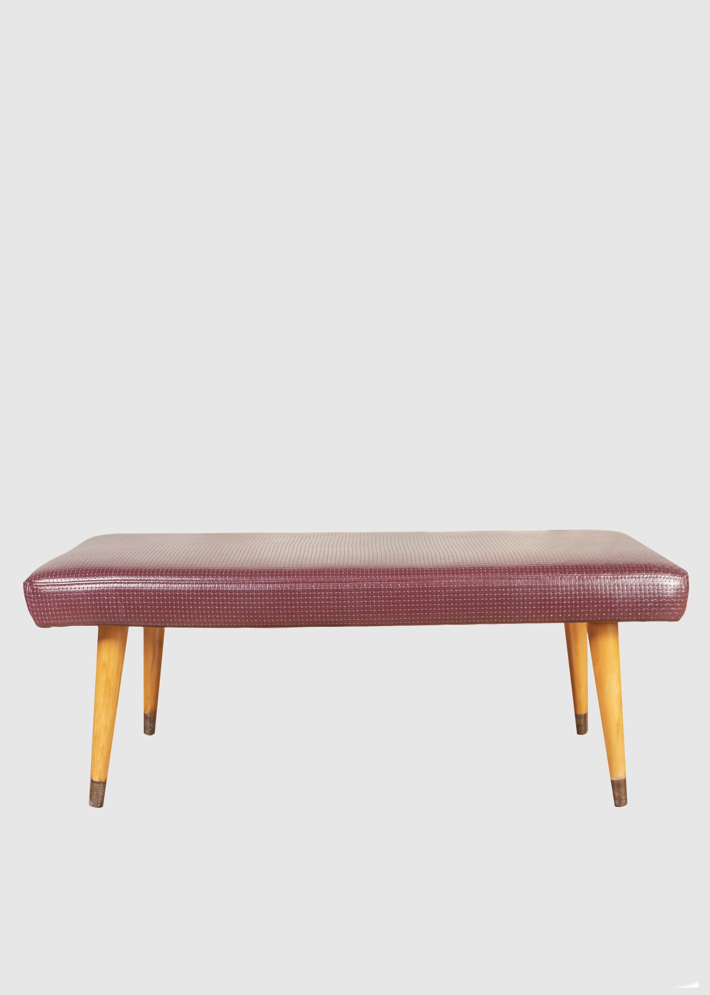 Marvelous Eskell Woven Leather Ottoman Eskell Lamtechconsult Wood Chair Design Ideas Lamtechconsultcom