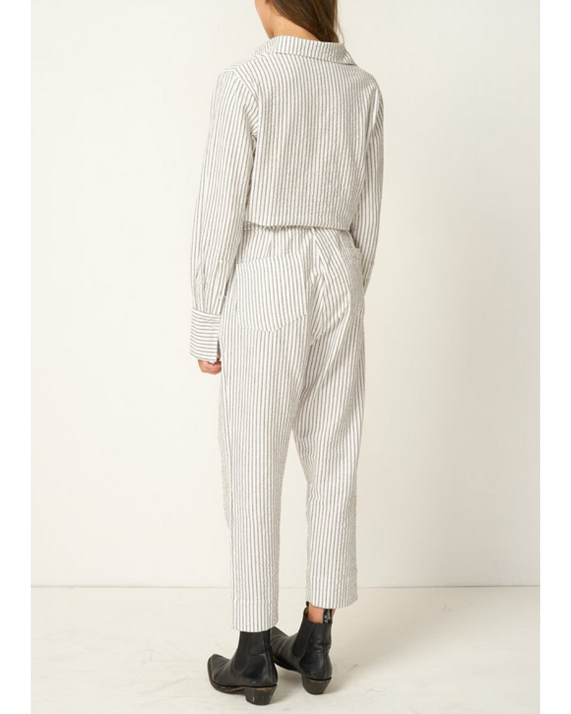 Preston Railroad Striped Jumpsuit