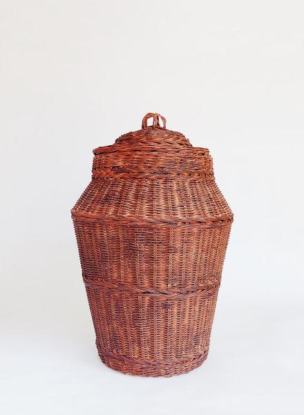 Vintage Large Wicker Basket