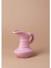 Vintage 50's Small Pink Art Deco Pitcher