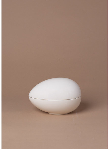 Vintage Ceramic Egg Trinket Box