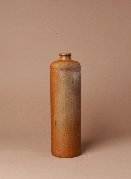 Antique Dutch Erven Lucas Bols Amsterdam Stoneware Bottle