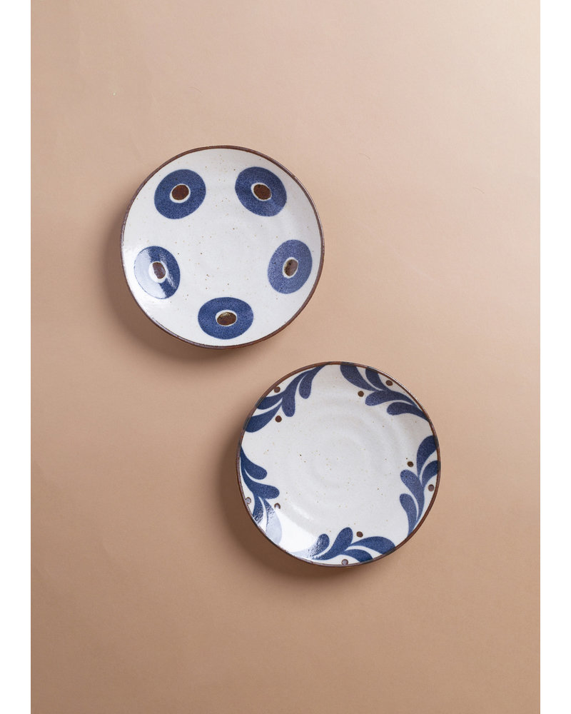 Small  Patterned Porcelain Plates