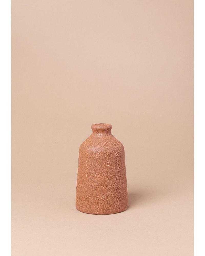Sienna Stoneware Bud Vase