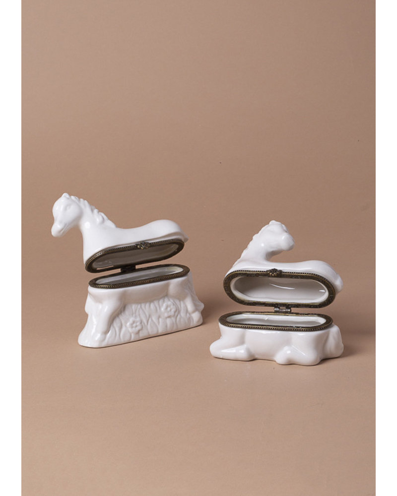 Horse Trinket Boxes