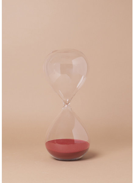Red Sand Hourglass