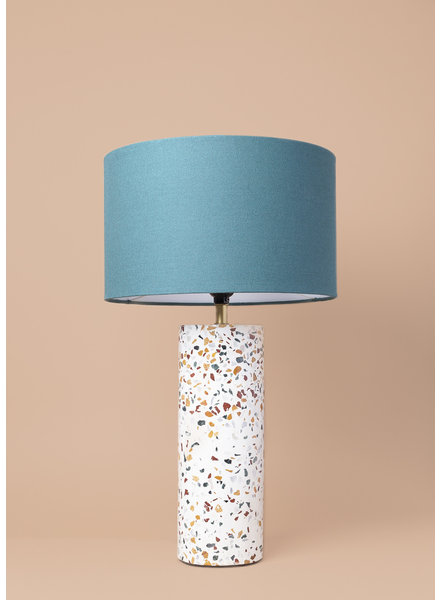Terrazzo Cylinder Table Lamp