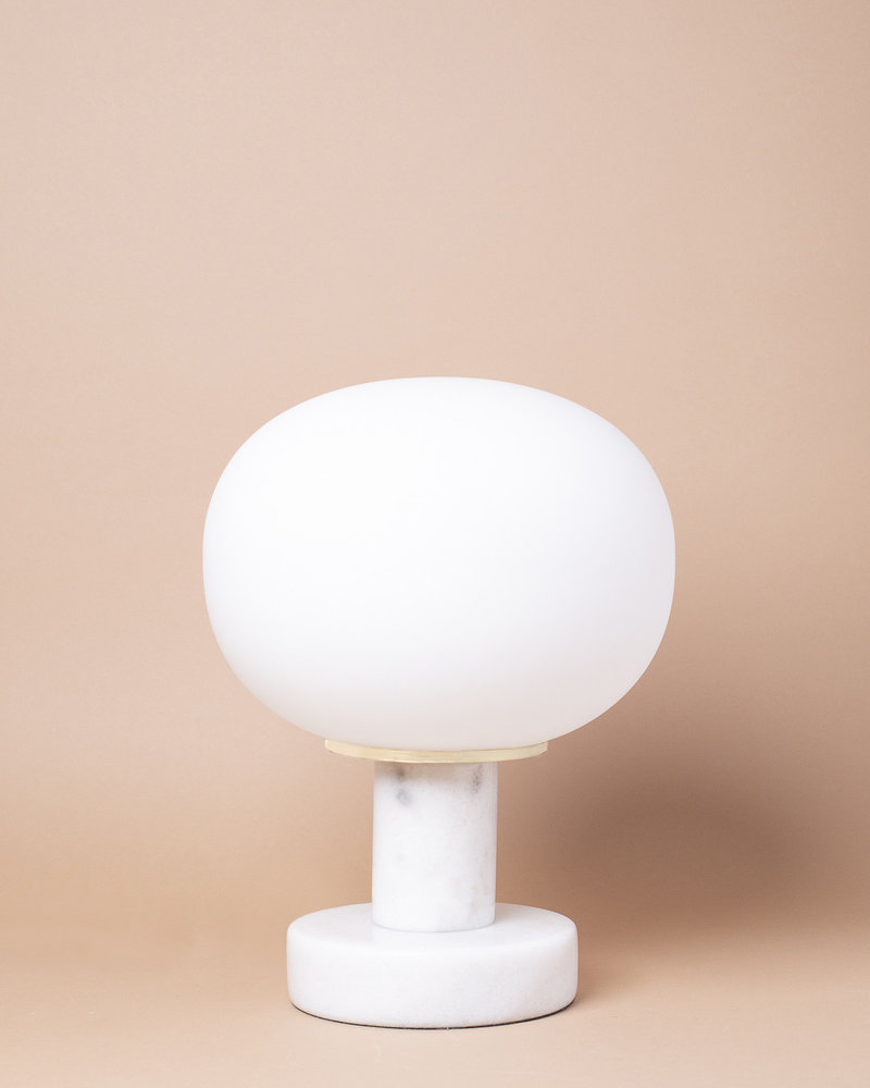 Marble Globe Table Lamp