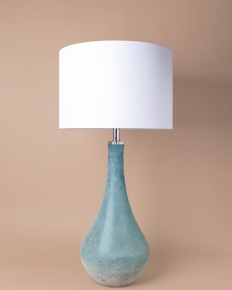 Cove Art Glass Table Lamp