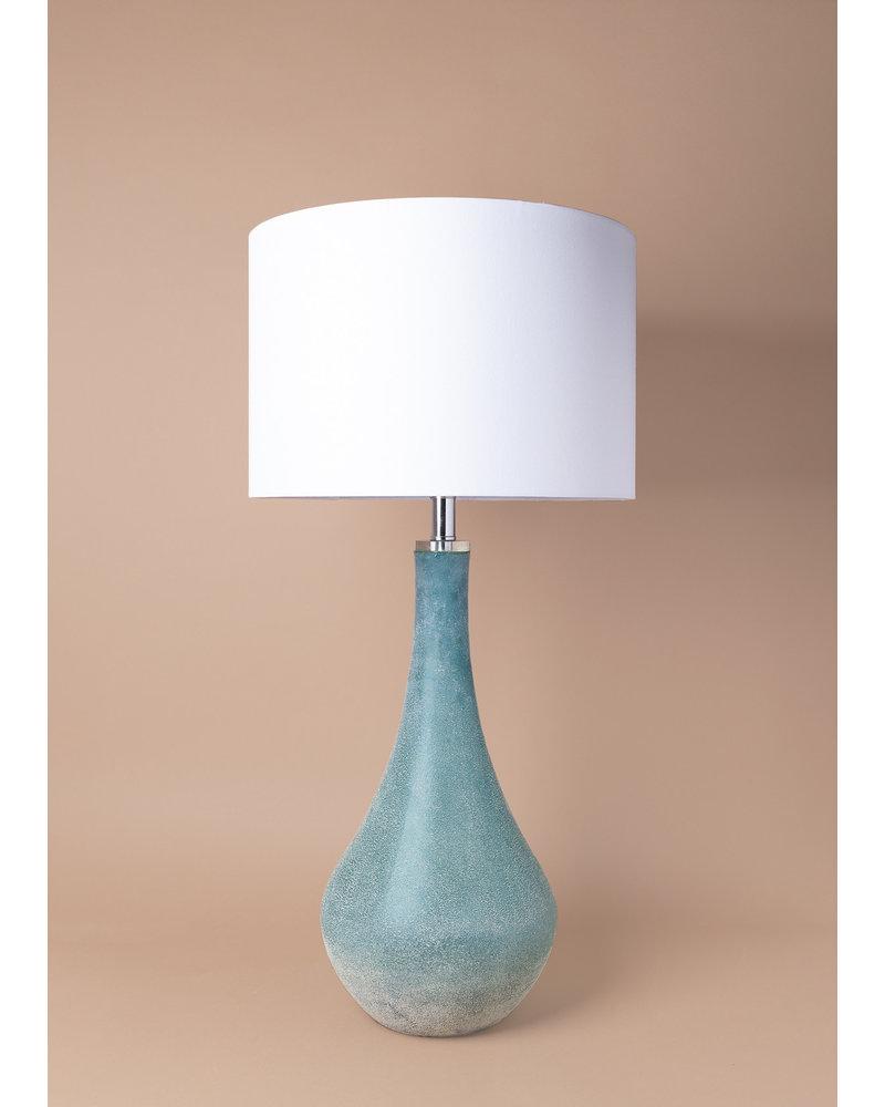 Cove Art Glass Table Lamp