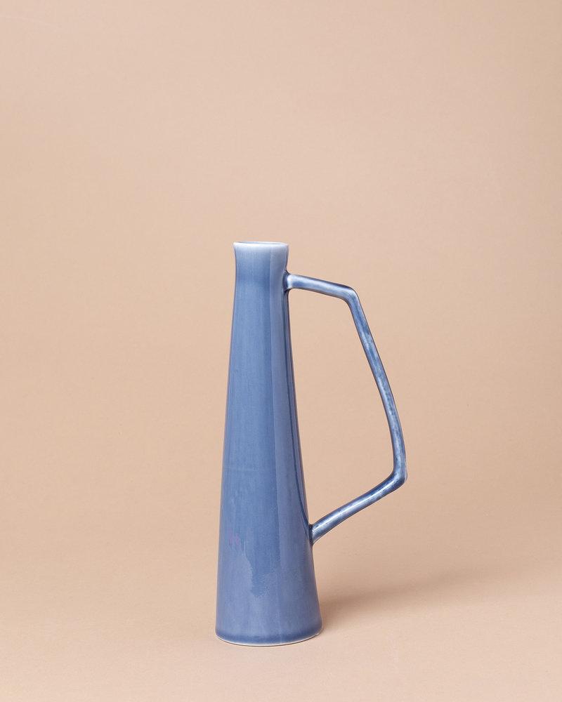 Small Stoneware Handled Vase