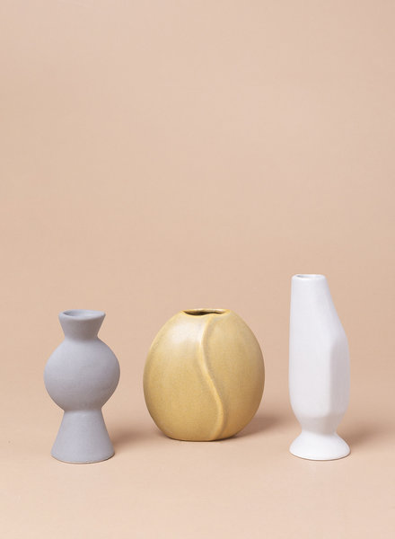 Abstract Bud Vases