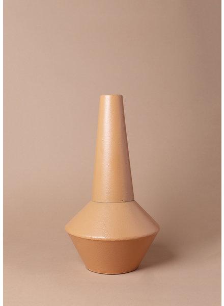 Metal Terracotta Vase