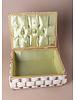 Vintage Wicker Sewing Box