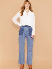Angelina Patch Pocket Jeans