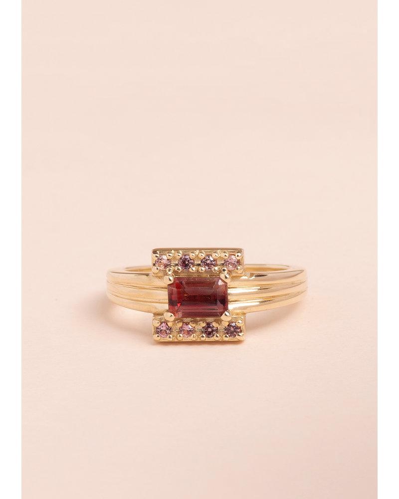 Sunstone Ara Ring - Size 6