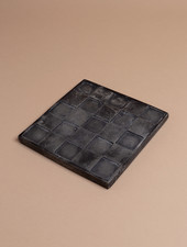 Square Embossed Cement Trivet