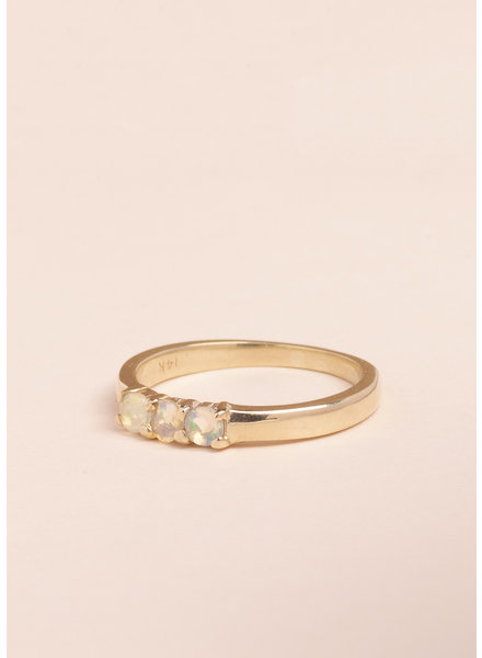 Opal Kyle Ring - Size 6.5