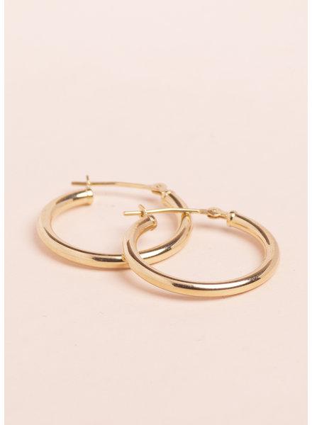 NY Hoop Earrings