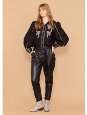 Astral Relaxed Leather Pant
