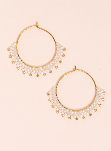 Stardust Creole Earrings