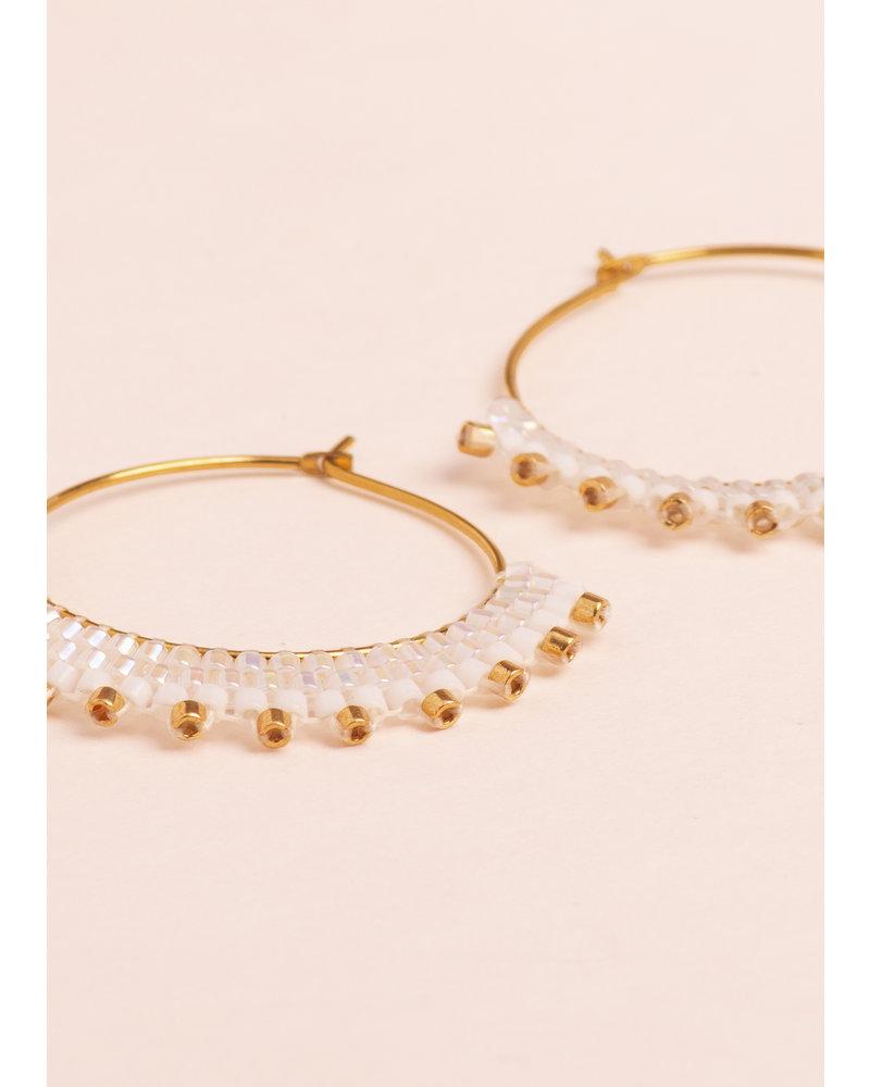 Stardust Creole Earrings
