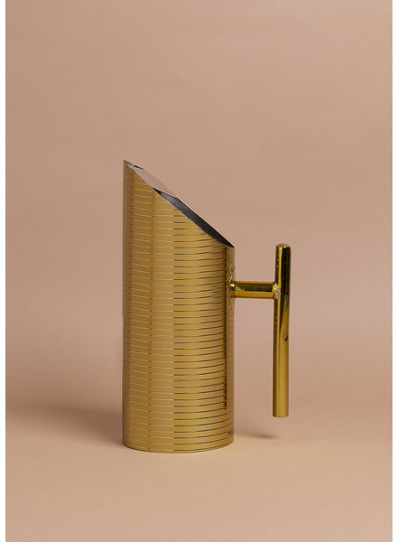 Gold Deco Pitcher