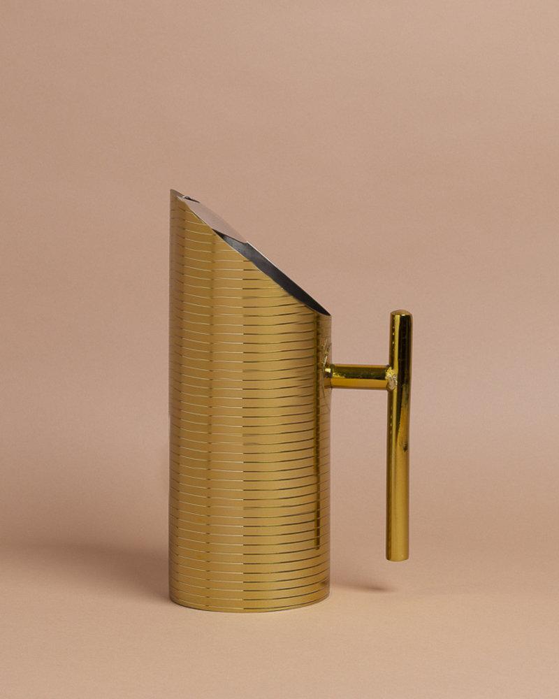 Gold Deco Pitcher