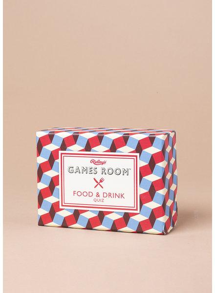 Games Room Food & Drink Quiz