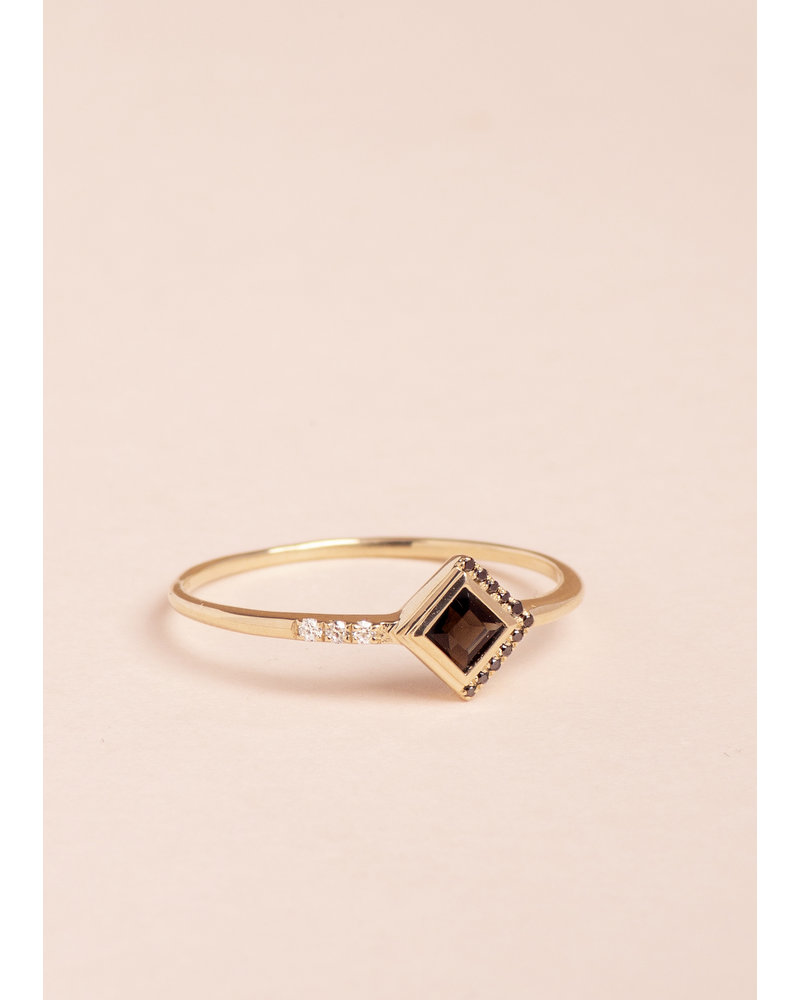 Obsidian Mysterieux Ring - Size 6.5