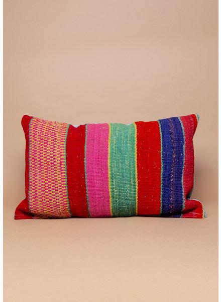 "Rainbow Peruvian Pillow - 18"" x 26"""