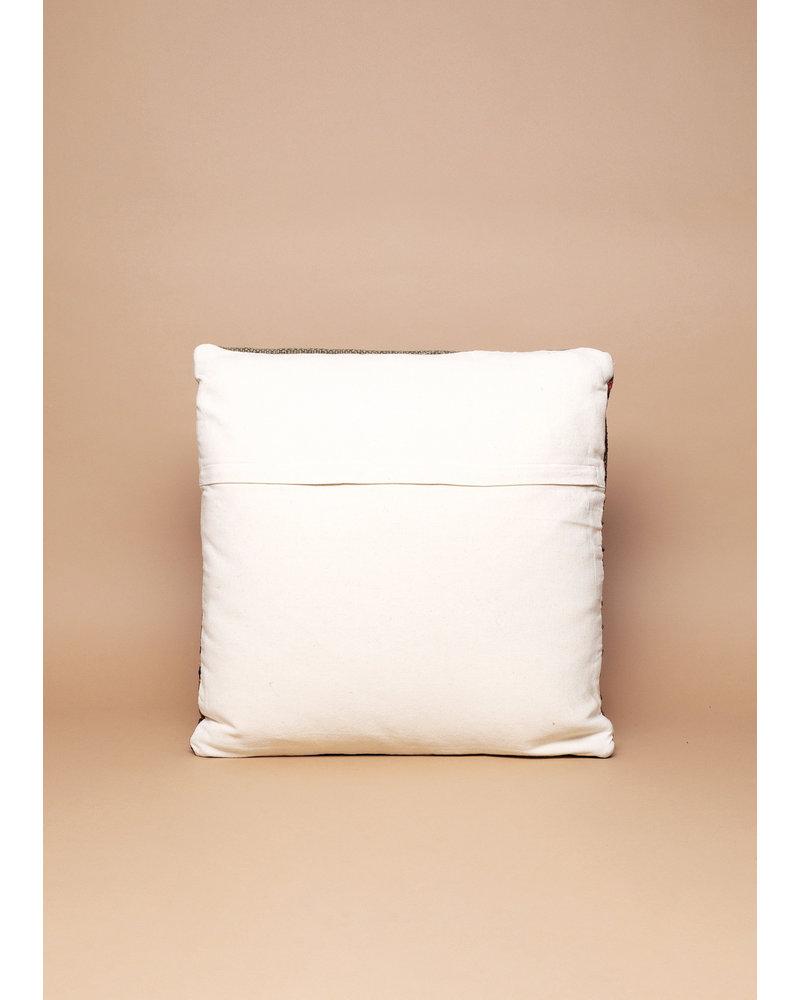 Autumn Striped Kilim Pillow