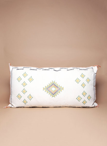 Palm Springs Cactus Silk Pillow