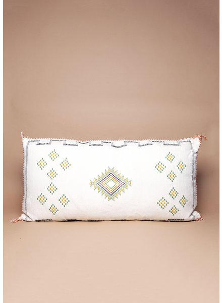 Palm Springs Cactus Silk Pillow