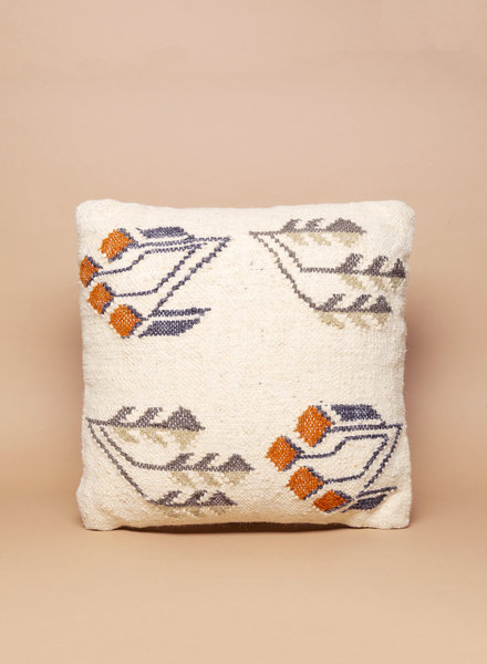 Lotus Leaf Wool Pillow