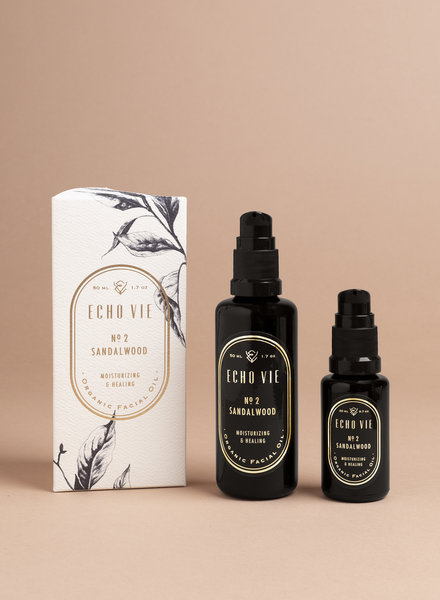 No. 2 Sandalwood Moisturizing & Healing Facial Oil