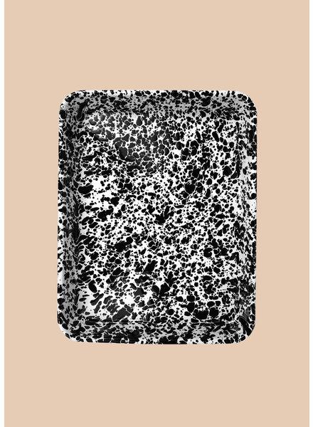 Rectangular Splatterware Tray